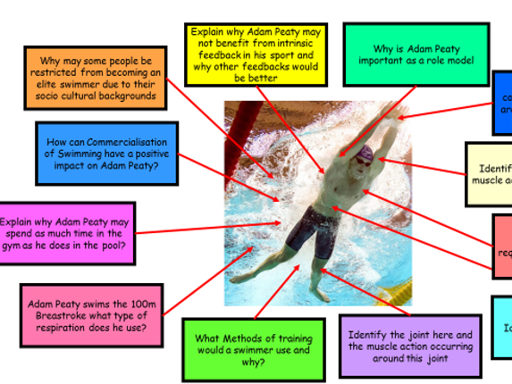 GCSE PE NEW SPEC REVISION - Exam Analysis Specific Sporting Examples