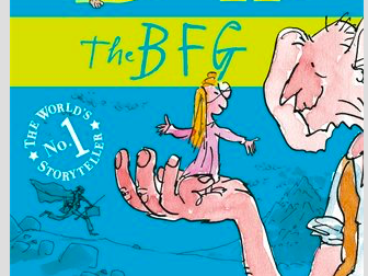 WAGOLL Sophie's diary entry and support sheets - The BFG
