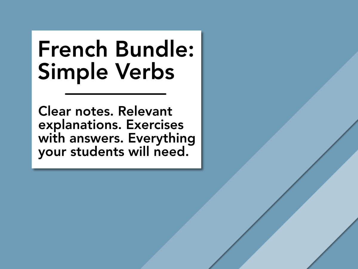 French: Simple Verbs