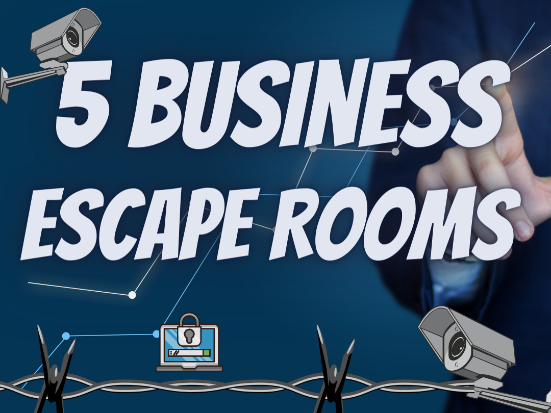 Business and Finance Escape rooms