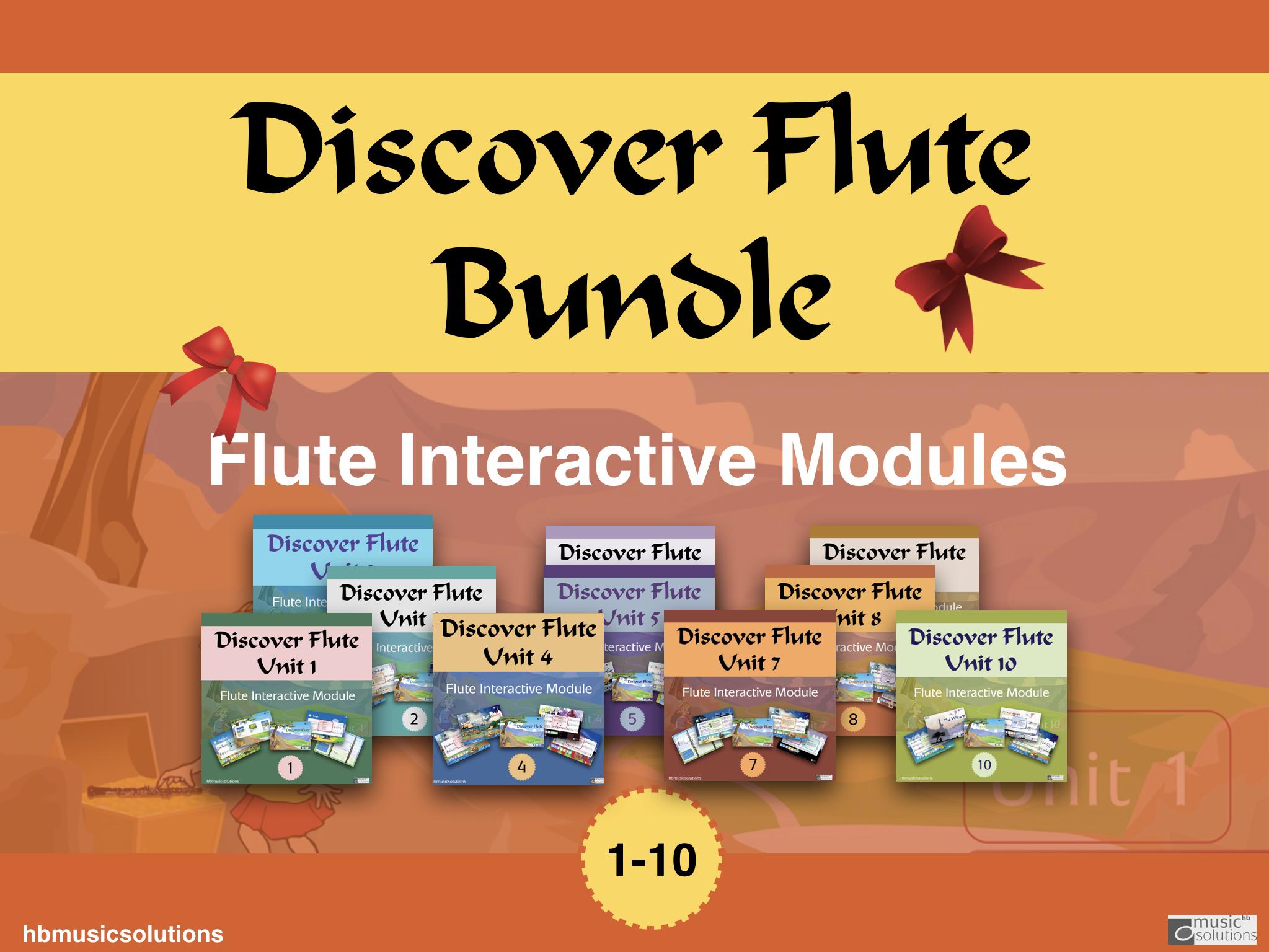 Discover Flute Bundle Unit 1-10