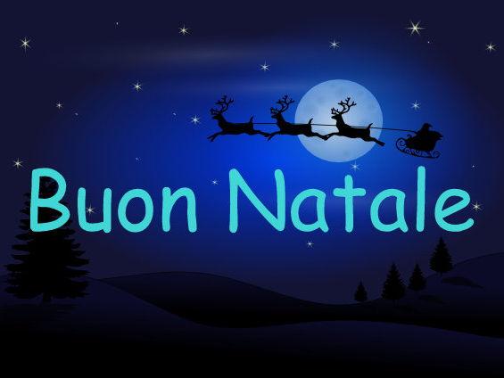 ITALIAN ~ CHRISTMAS ~ BUON NATALE
