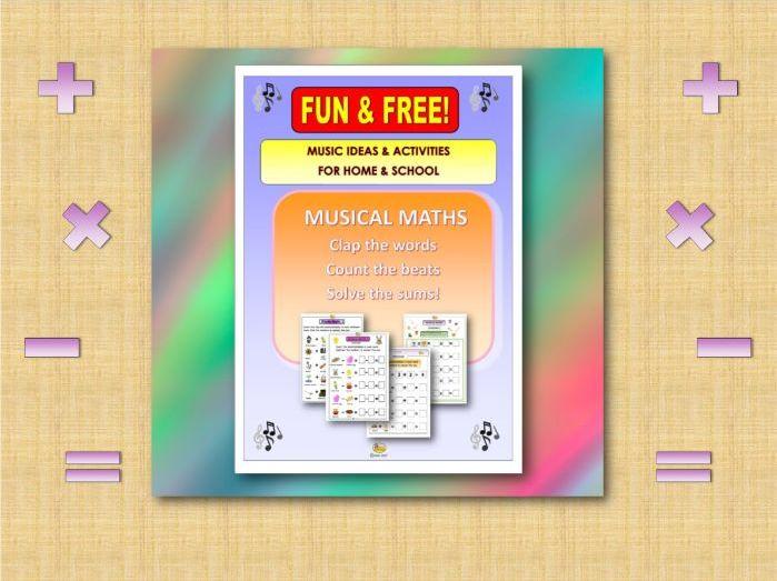 Fun & Free - MUSICAL MATHS PACK (Covid 19)