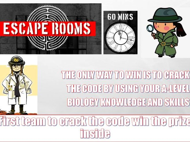 AQA Biology Revision Escape Room Challenge