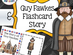 Guy Fawkes Flashcard Story, Bonfire Night