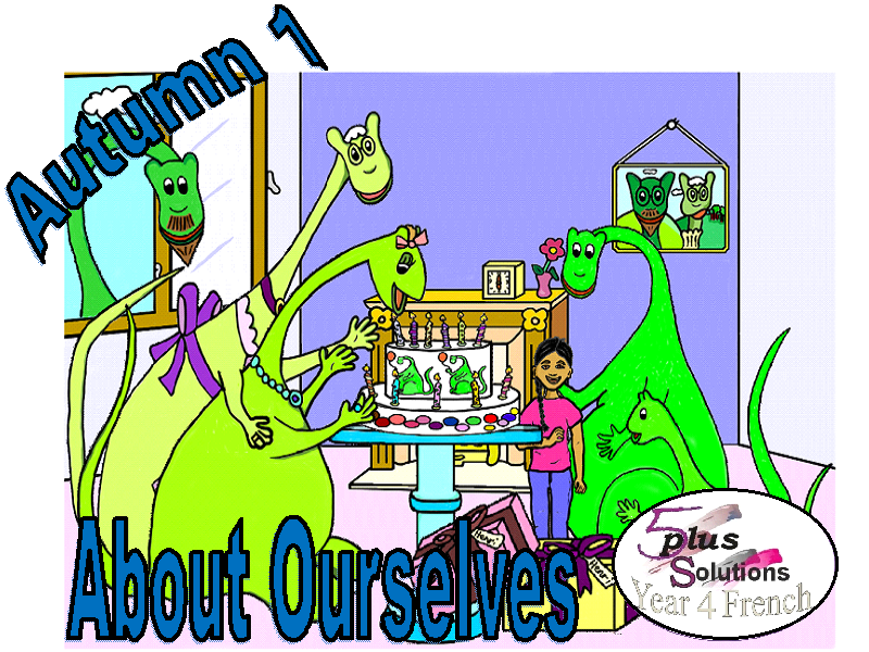 Primary French LEARNING MAT:Year 4 About Ourselves