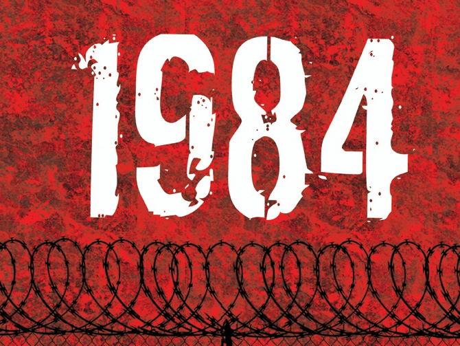 Resultado de imagem para 1984 book art