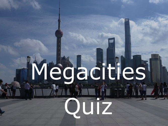 Megacities Quiz