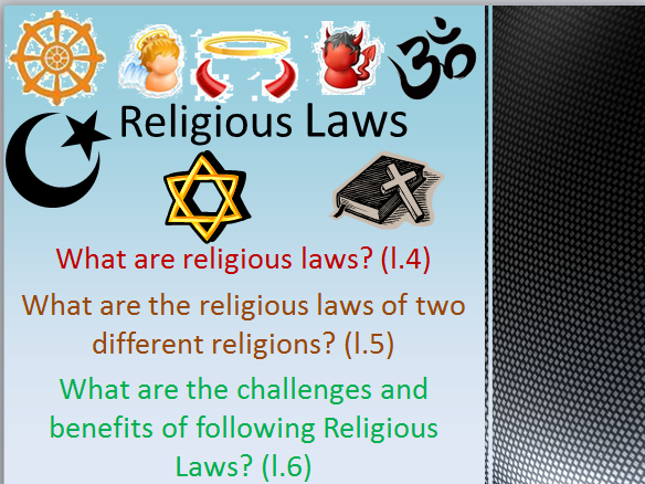Religious Laws