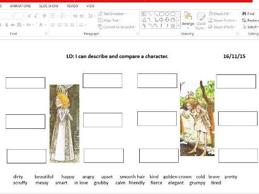 The Paper Bag Princess KS1 planning