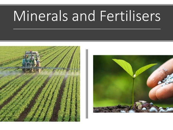 Minerals and Fertilisers DL
