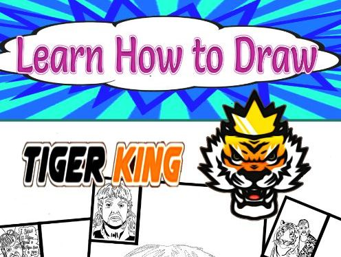 Learn How to Draw Tiger King