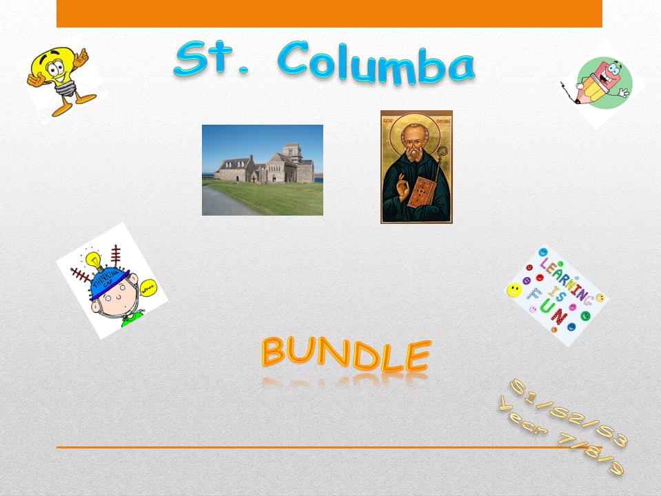 St Columba - bundle