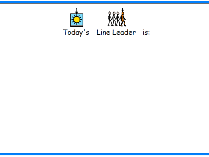 Line Leader Visual
