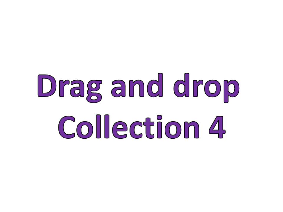 Drag and drop collection 4