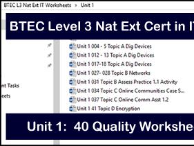 btec level 3 it unit 31