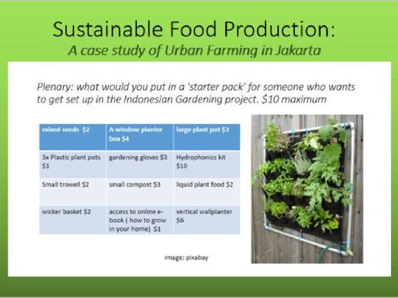 sustainable food production case study