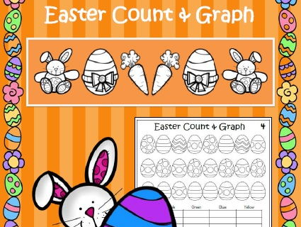 Easter Maths - Count & Graph