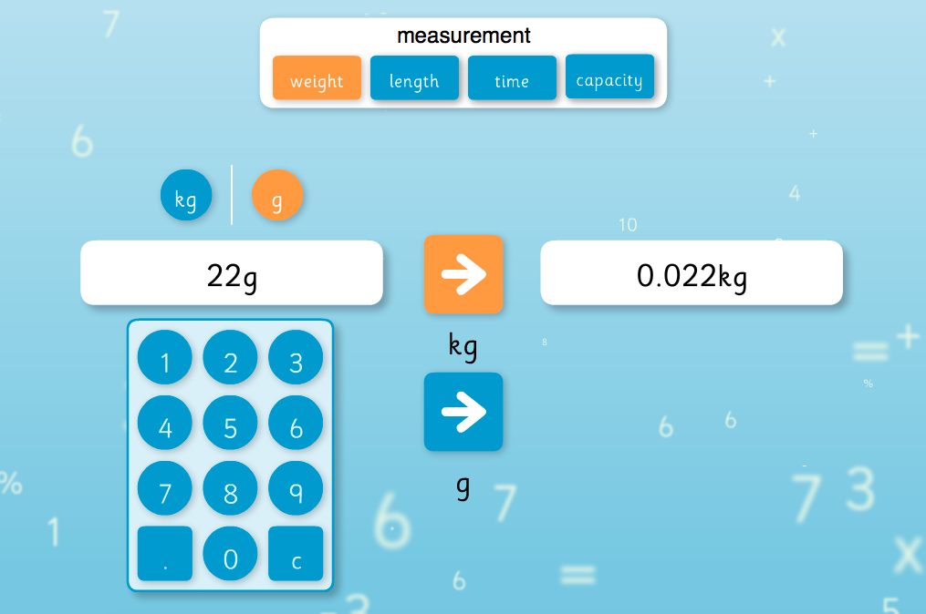 Conversion Interactive Tool - KS2 Measurement