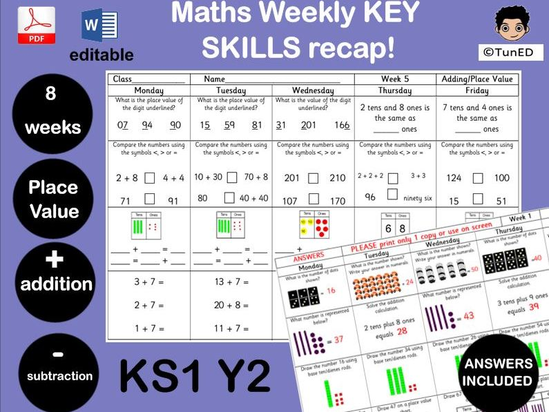 YEAR 2 Maths Greater Depth  14 WEEKS WORTH!SATs prep! Multiplication Money Place value addition  KS1