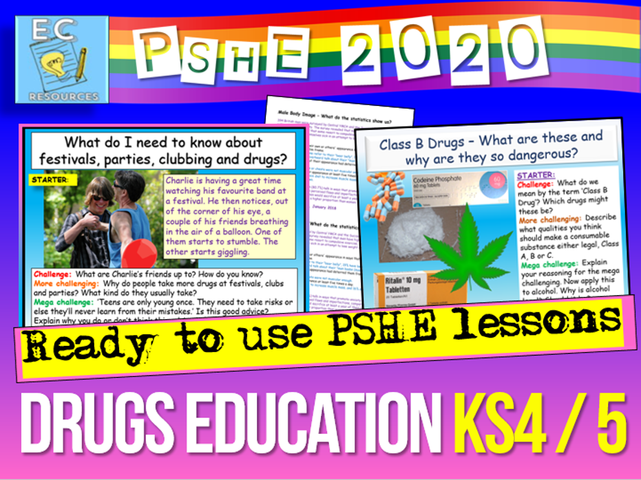Drugs Education KS4 / KS5