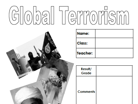 Terrorism (pupil workbook)