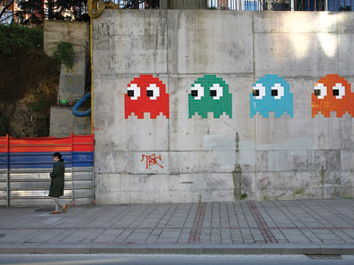 Introduction to street artist Space Invader