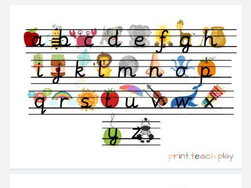 Alphabet Writing Pack