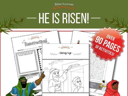He is Risen! Activity Book (crucifixion & resurrection of Jesus (Yeshua)