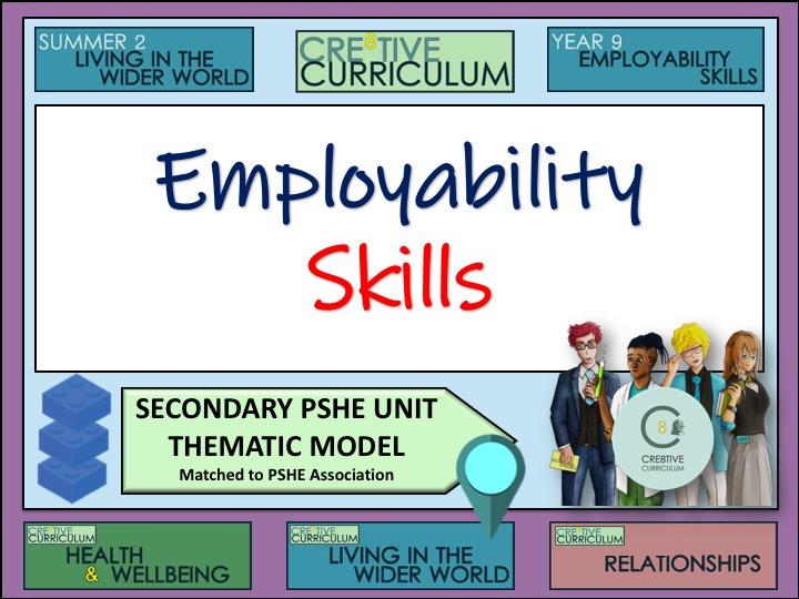 Thematic PSHE Employability Skills