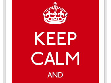 English Classroom 'Keep Calm' Posters x14