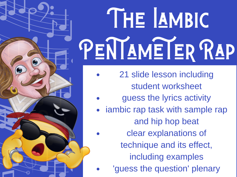 Iambic Pentameter Rap Full Lesson