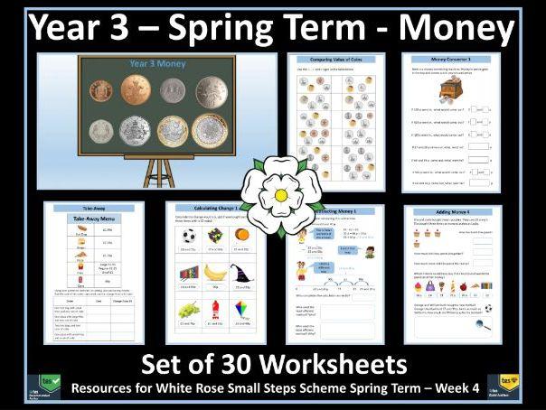 Money Year 3 Worksheets - White Rose Maths