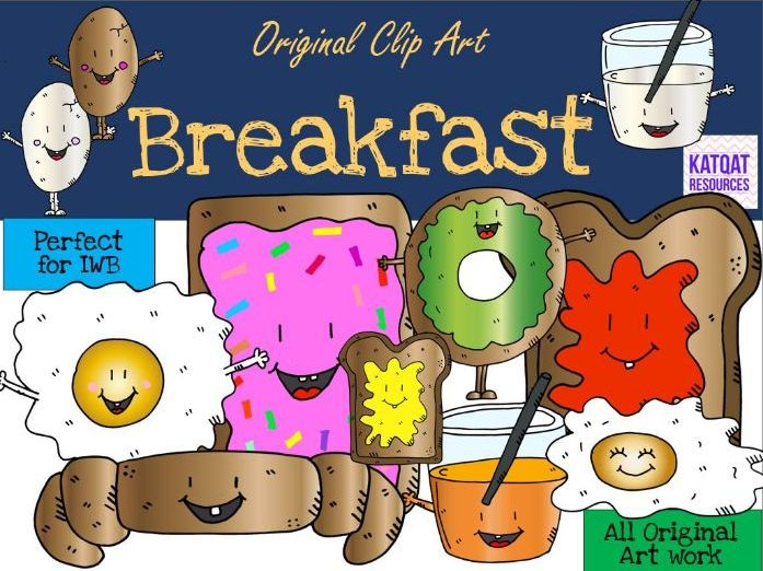 Breakfast Clip Art 2