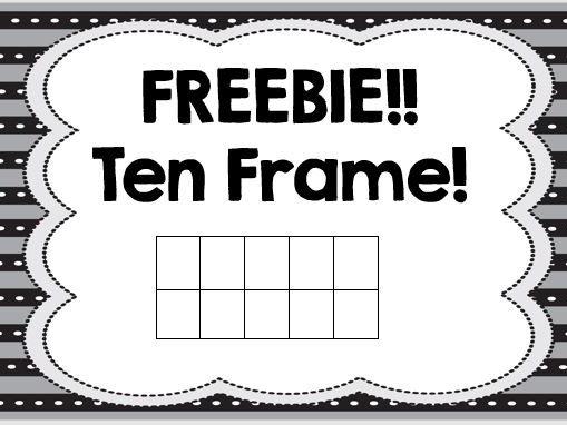 Ten Frame!