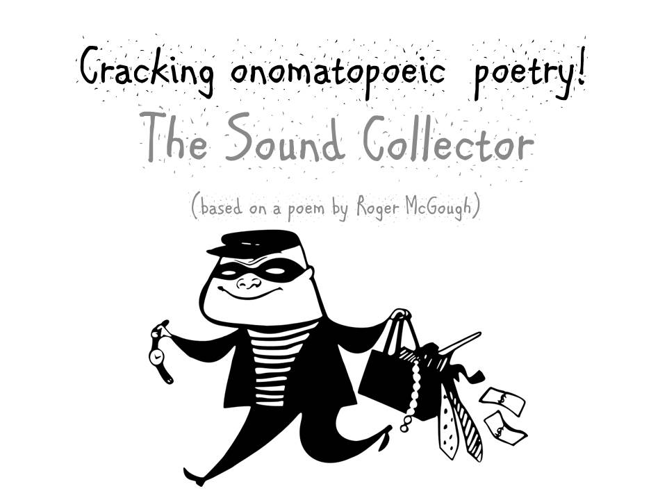 How to Write an Onomatopoeia Poem KS2  (differentiated lesson plan, writing frame and power point)