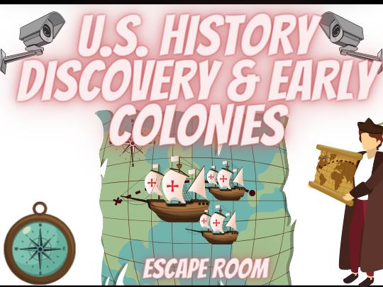 Christopher Columbus History Escape Room