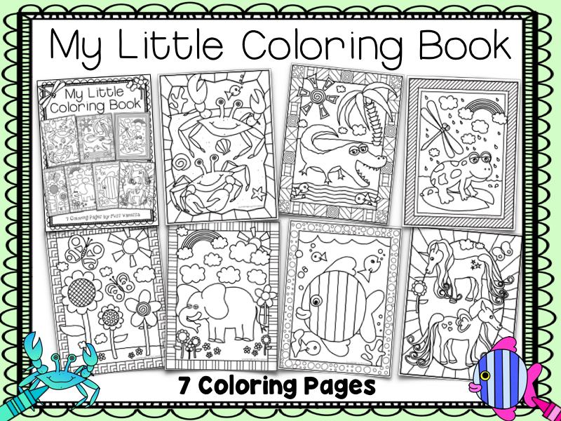 Coloring Pages Mini Bundle