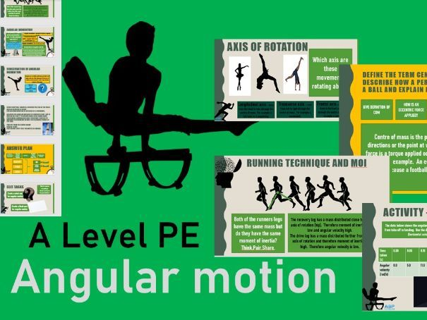 Angular motion A level PE
