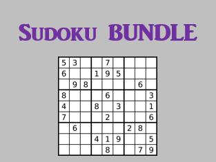 Sudoku Present tense Verb games in German Bundle