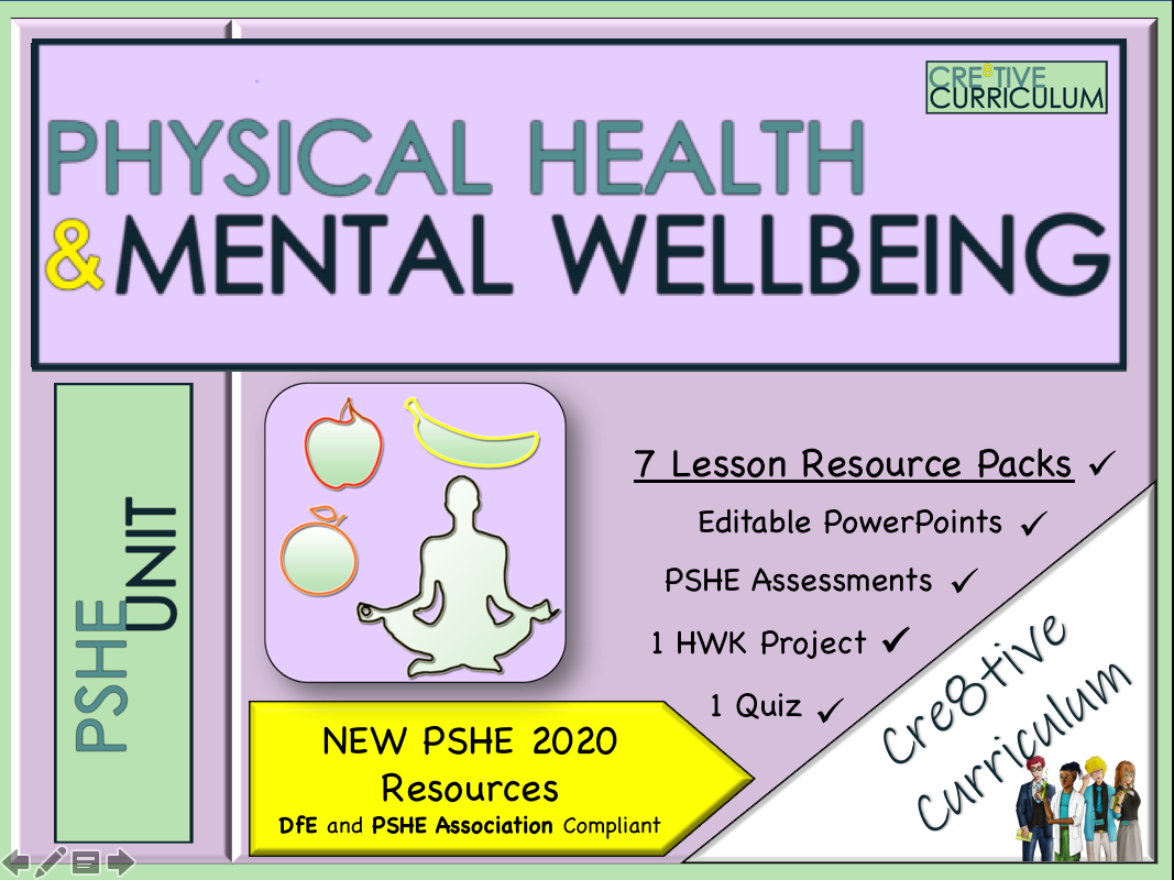 Physical Health + Mental Wellbeing PSHE Unit