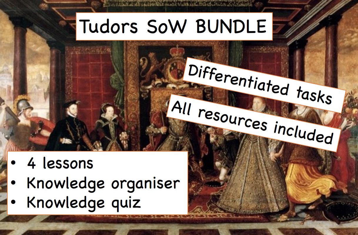Tudors SOW BUNDLE