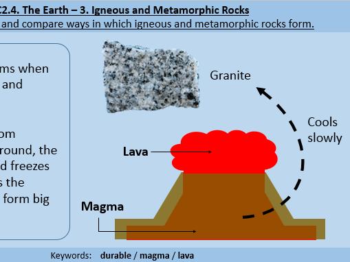 Igneous and Metamorphic Rocks