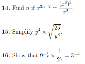 Indices-harder questions worksheet no 3 (with detailed solutions)