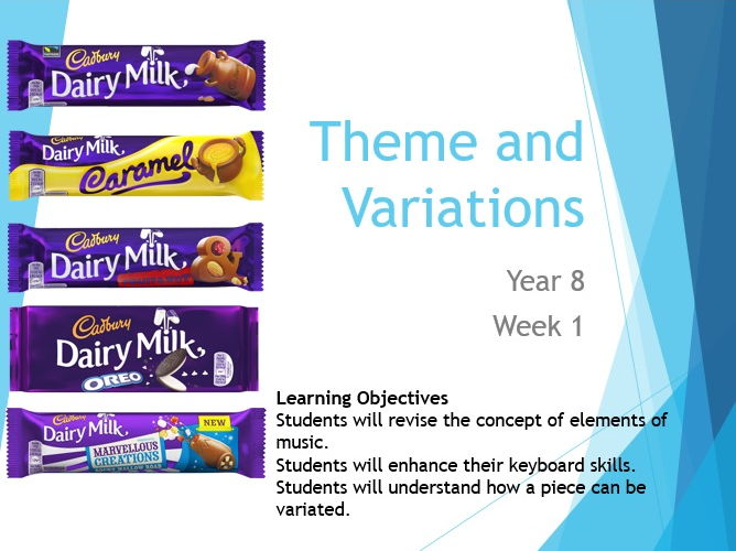 Theme and Variations (KS3)