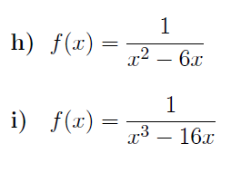 Domain and range of a function worksheets (with solutions)