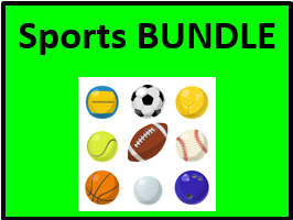Esportes (Sports in Portuguese) Bundle