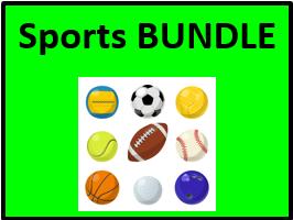 Desportos / Esportes (Sports in Portuguese) Bundle