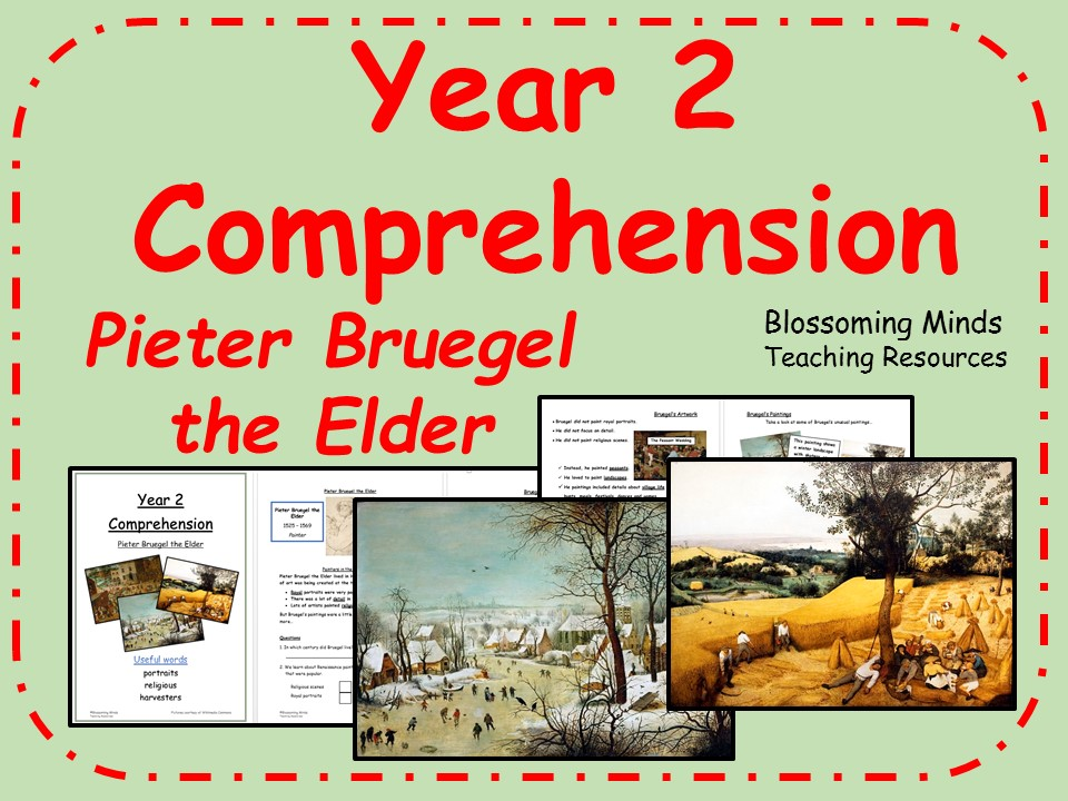 Year 2 SATs reading comprehension paper - Pieter Bruegel the Elder