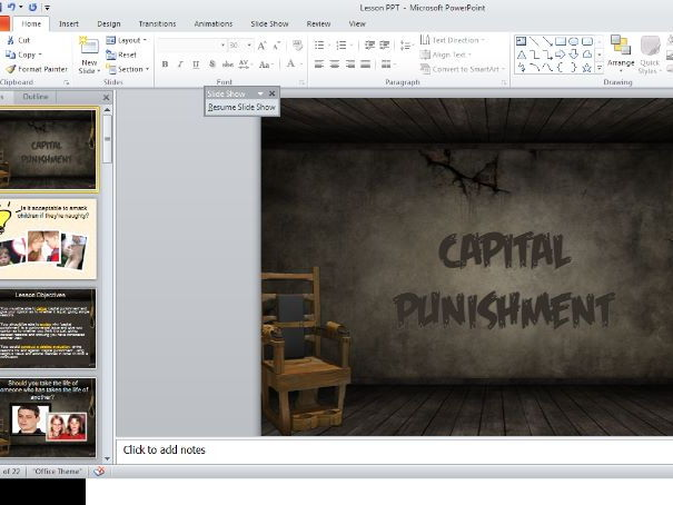 Is Capital Punishment Acceptable? WJEC/OCR/AQA